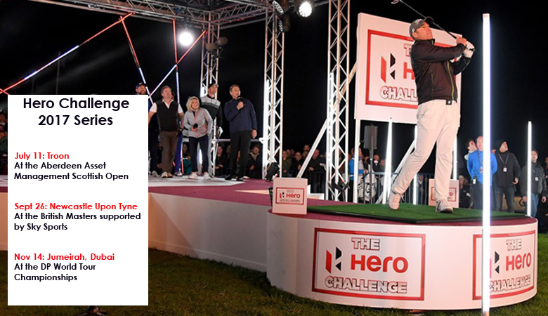 Indian footprint in Europe expands with innovative Hero Challenge golf