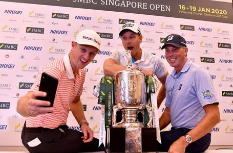 Rio medallists, Rose, Stenson and Kuchar, tee off at Singapore Open