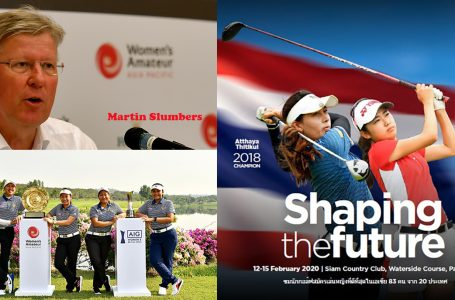Women's Amateur Asia-Pacific in Pattaya from February 12