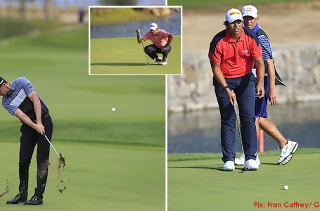 College roommates Perez and Green 1-2; Bhullar survives cut; Sharma misses