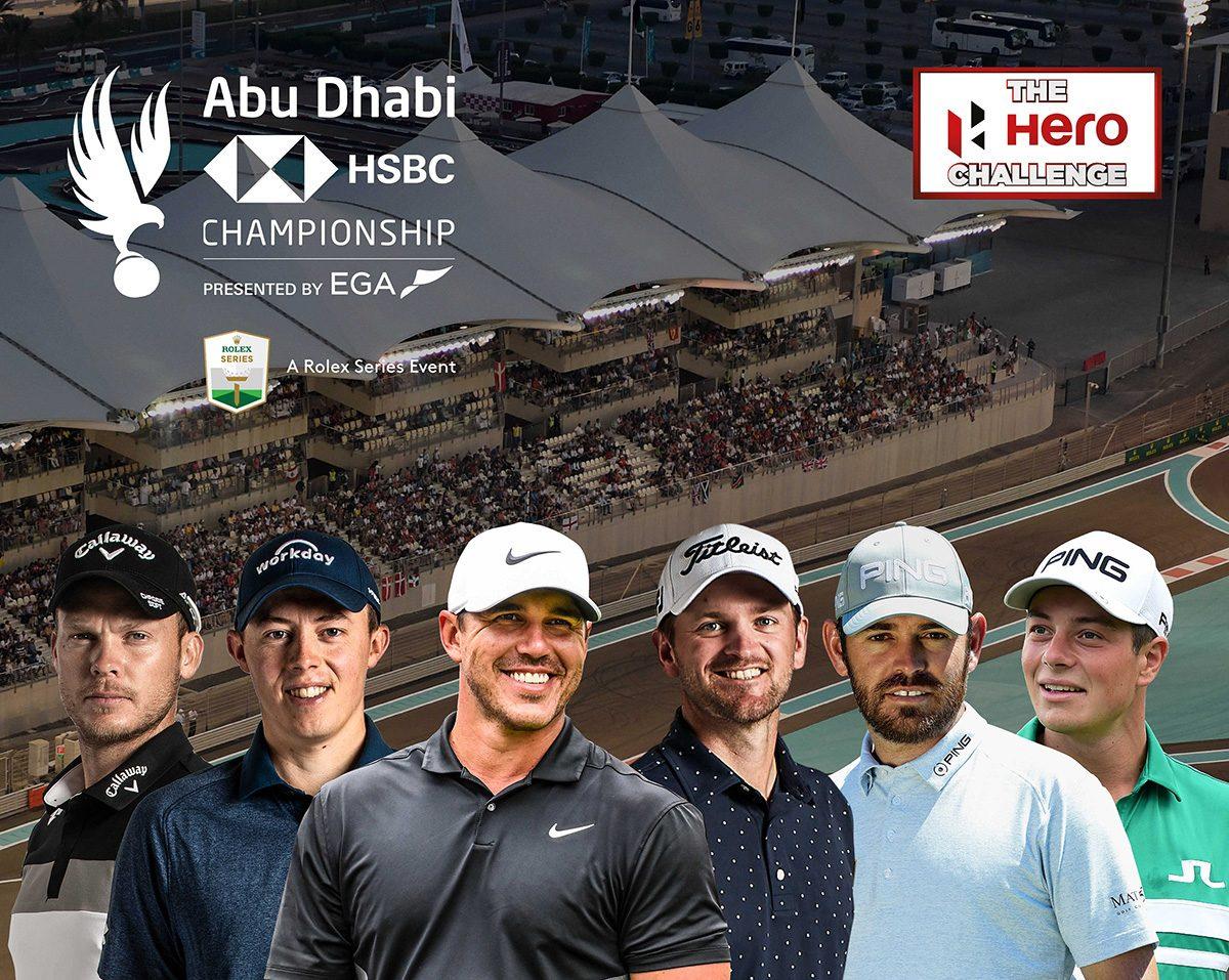 Koepka, Oosthuizen to make Hero Challenge debut in Abu Dhabi