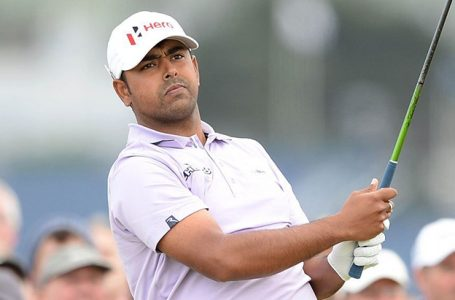 Lahiri slips with two double bogeys in second round; Fowler leads