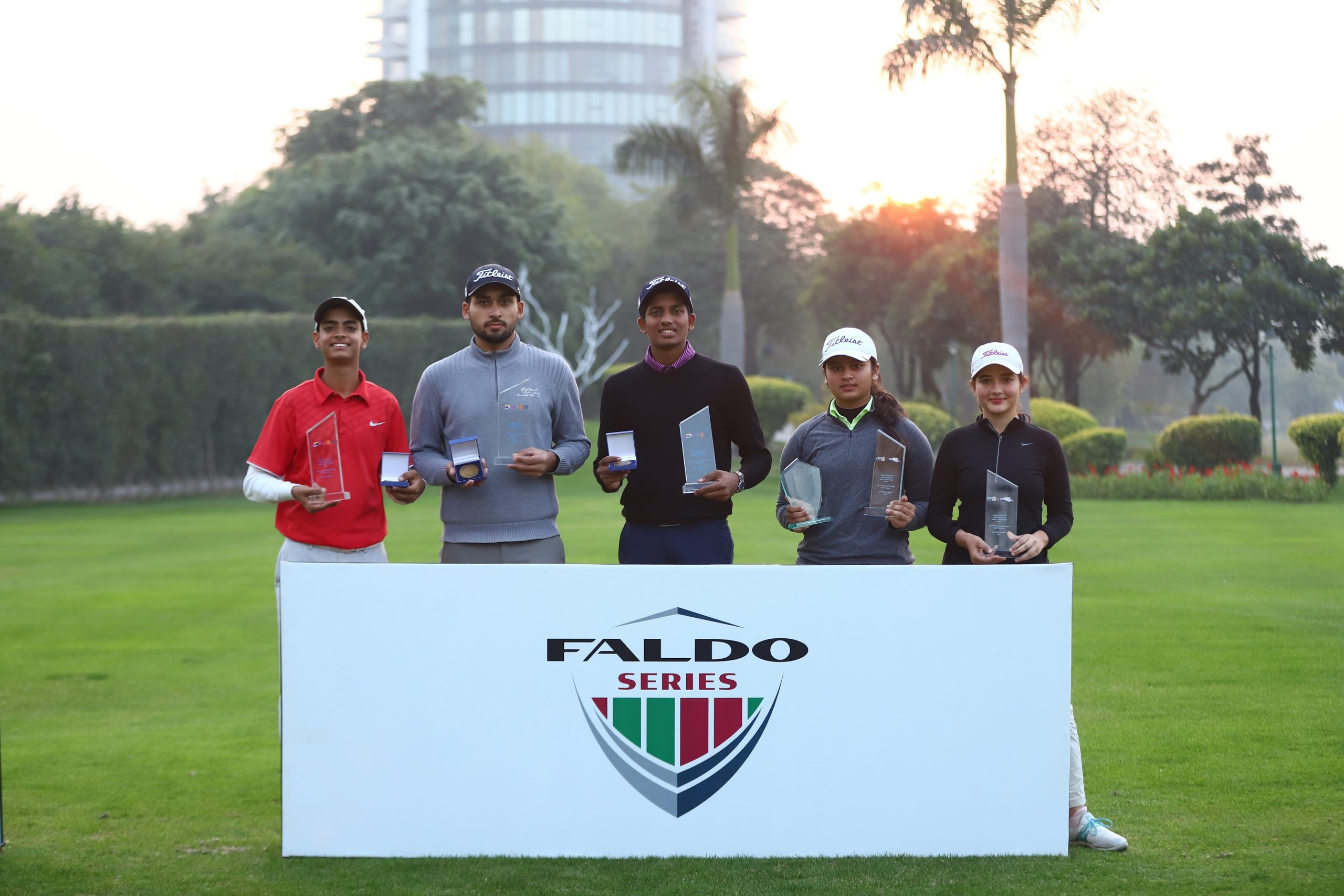 Hunar upstages Sneha to win Faldo Series title; Aryan wins in boys