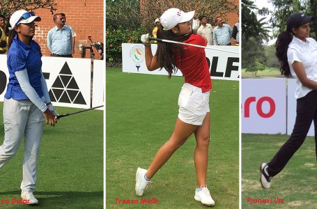 Pranavi rebounds to get into 3-way lead with Tvesa, Ananya in Hero WPGT