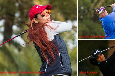 Sharmila fights back to T-33, Vani is T-39; England's Alice leads LET Q-School