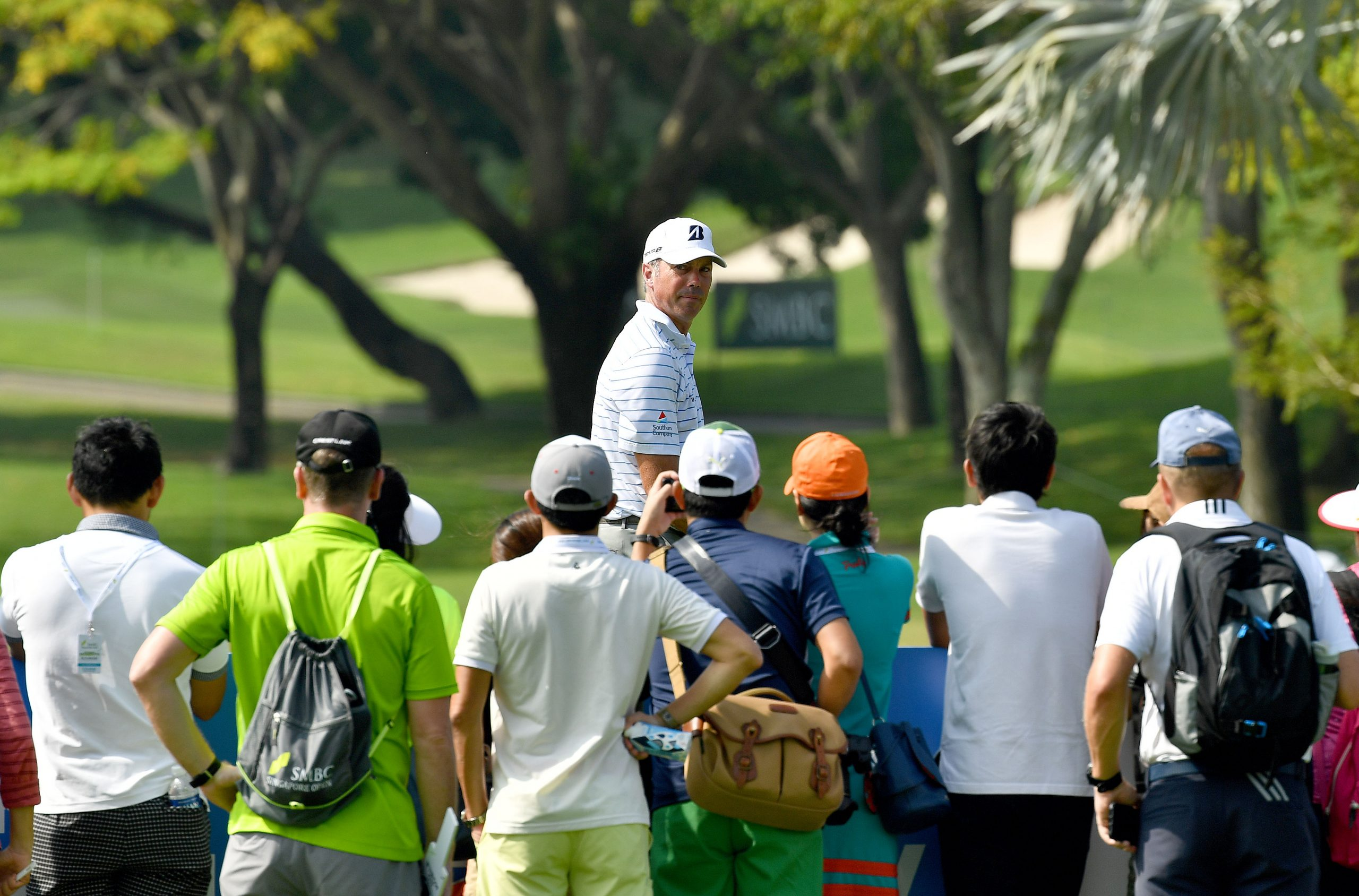 Matt Kuchar loves the travelling and the chance to play golf