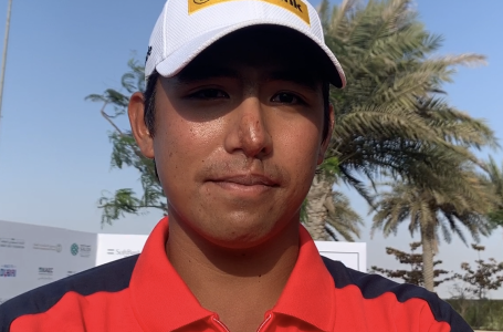 Gavin Green on friendship and playing with college roomie Victor Perez in Saudi Rd3