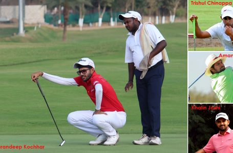 Kochhar leads with 63, Rashid three behind at 10th in Golconda Masters