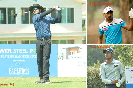 In-form Aman Raj takes lead with 65; Veer, Chikka two behind at Eagleton