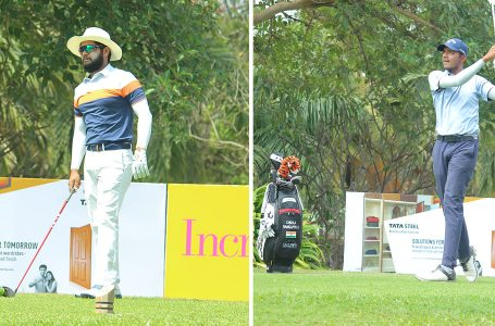 Ahlawat and Aman Raj share lead at halfway stage at leaders at Eagleton