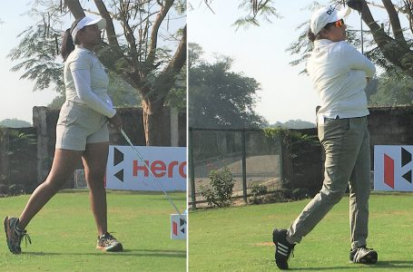 Oviya, Amandeep share lead; Pranavi back in contention in 3rd Leg