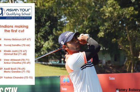 Baisoya leads 9 Indians past first hurdle; Sandhu, Ahlawat, Khalin and Himmat also make cut