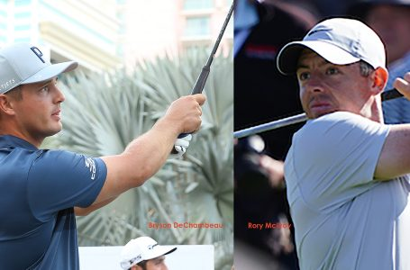 McIlroy finds birdies hard to get as De Chambeau zooms to top in Mexico