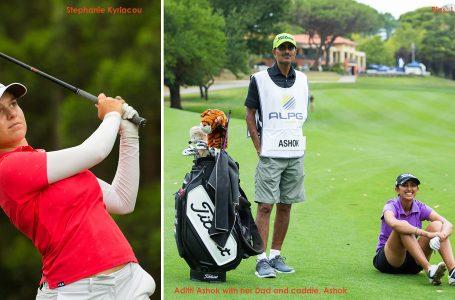 Aditi starts strong to shoot 69, rises to 24th; Tvesa, Diksha 43rd in Bonville