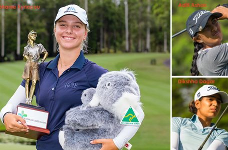 Aditi finishes 24th at Australian Ladies Classic; Amateur Kyriacou wins title