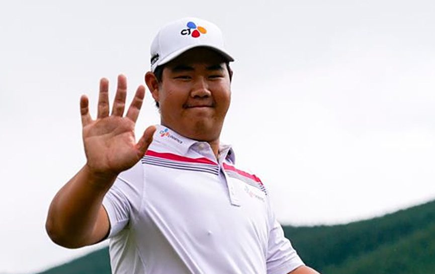 NZ Open: Rd 1: Love the travel and playing tournaments, says teen Joohyung
