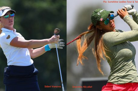 Sharmila Nicollet tied-sixth at Joburg Ladies Open