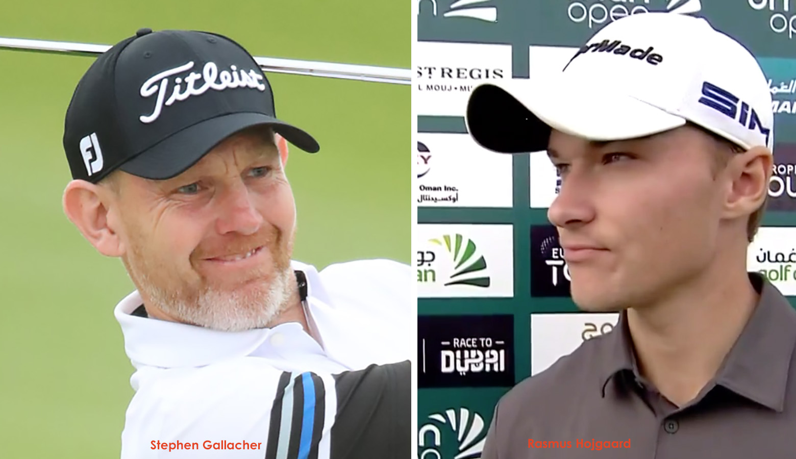 Chawrasia makes cut, as Gallacher and Hojgaard lead in Oman