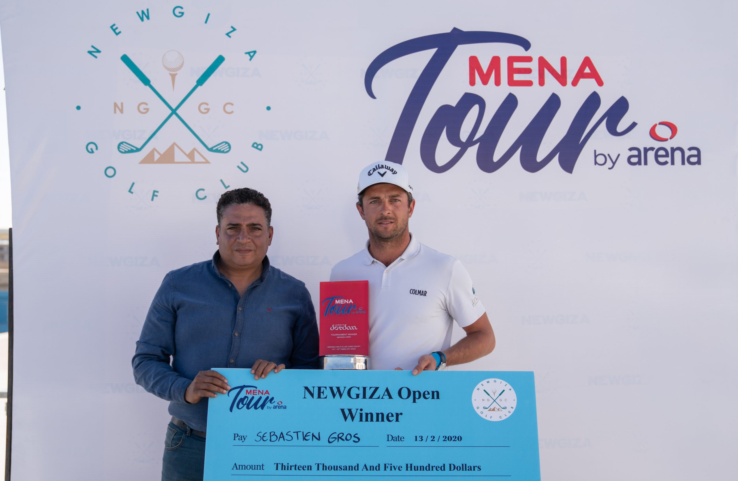 Gros grabs NEWGIZA Open title by two-shot margin; Hague is second