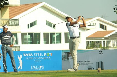 Ahlawat's second straight 65 puts him two clear of Aman Raj in Bengaluru