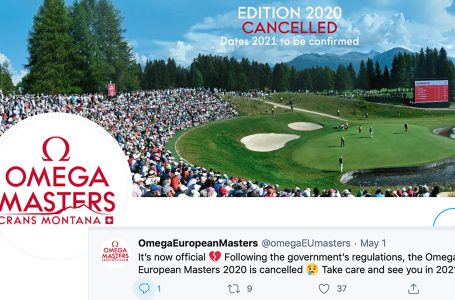 Another blow for European Tour – Omega European Masters cancelled