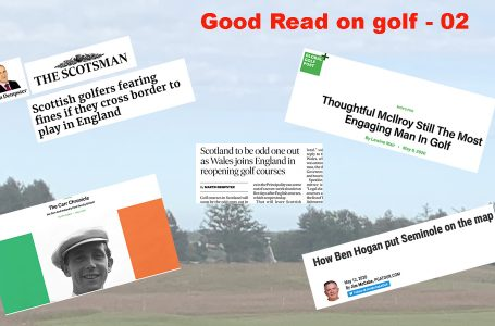Good Reads 02 – Selection of must-read stories from the world of golf