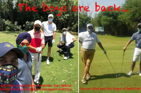 Jeev to Ajeetesh; Sharma to Kochhar; old buddies Kapur and Ghei relieved to be back on a golf course