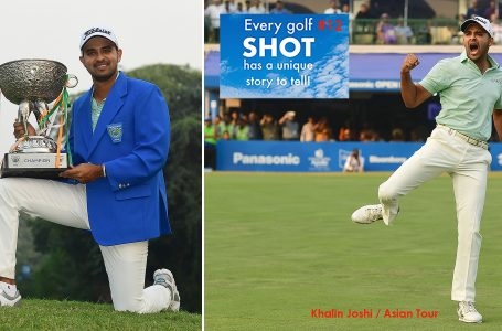SHOT 12 – One stunning shot that led to a flurry of birdies and a cherished maiden title for Joshi