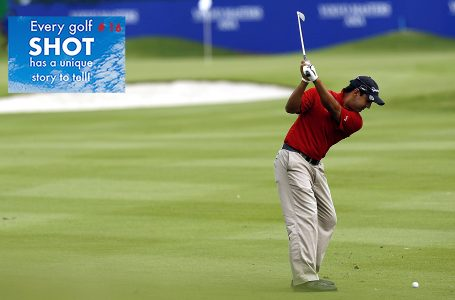 SHOT 16- Kapur's unforgettable putt at the Volvo Masters in his rookie year