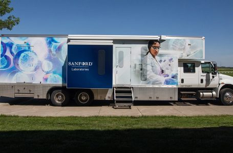 Sanford Health helps PGA TOUR start its Covid Challenge; 400 Tests by mobile units each week