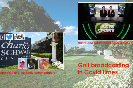 New age broadcasting of golf in Covid Times