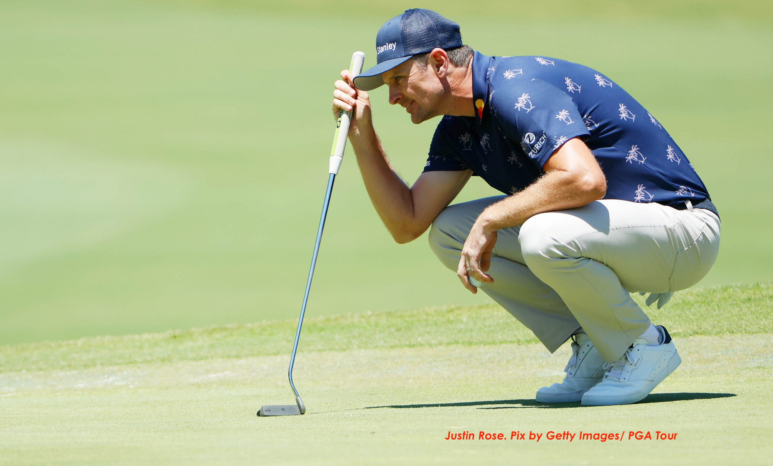 Rose splits with coach Foley, but reverses trend of results at the Colonial