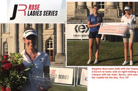 Meghan raises her game in time to 2nd Rose Ladies Series event