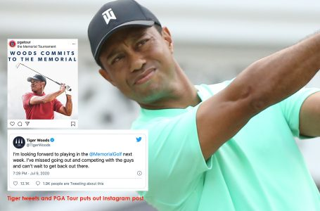 Tiger's return at the Memorial will complete 'Return to Golf' for PGA Tour