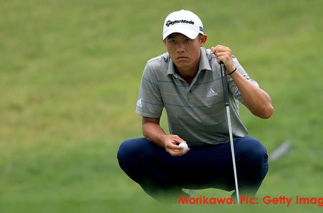 Morikawa bounces back from missed cut to lead at Workday Open