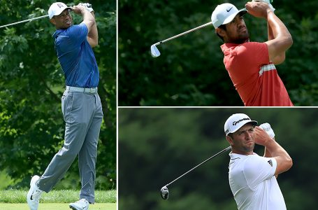 Finau keeps share of lead; Woods makes weekend for 18-for-18 streak of 'made cuts' at Memorial