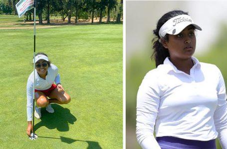 Anika Varma lands an ace and she leads Sacramento Women's Amateur
