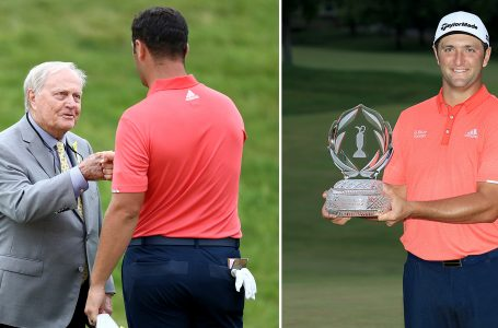 Rahm overcomes twists and turns to join Seve at the peak; Title and World No. 1 come together at Memorial