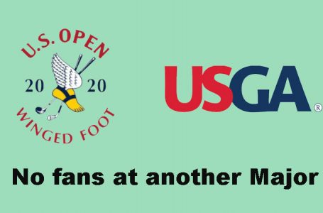 The US Open follows the PGA Champs and will be without spectators at Winged Foot