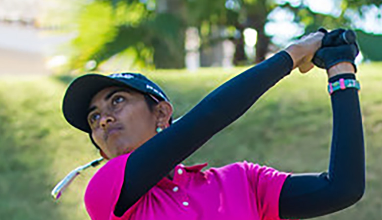 Aditi starts with even par 72, lies 41st as Nelly Korda leads again on LPGA