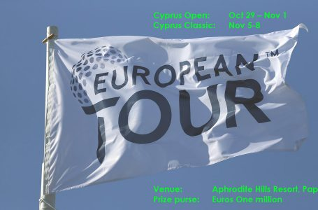 European Tour to debut in Cyprus for two events; ISM will be promoters