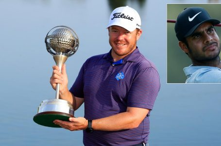 Sharma finishes 44th, Coetzee wins fifth European Tour title