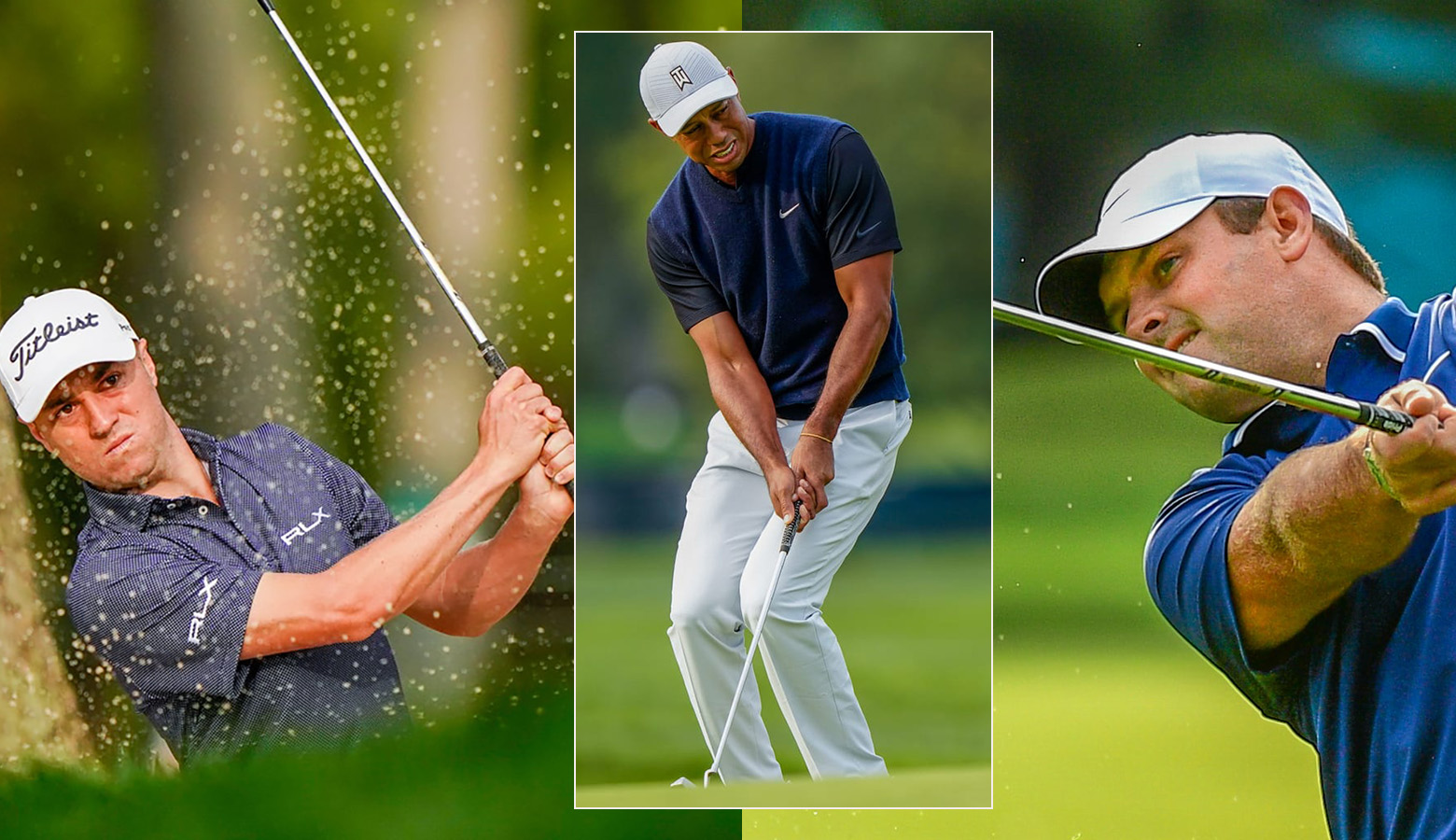 Thomas registers a superb 65, as Woods closes with 73 in a roller-coaster; Reed lands ace