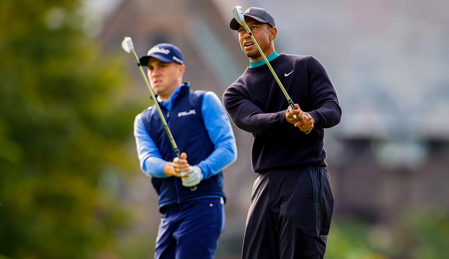 The story of Woods and his buddy-cum-rival Thomas and how they feed of each other