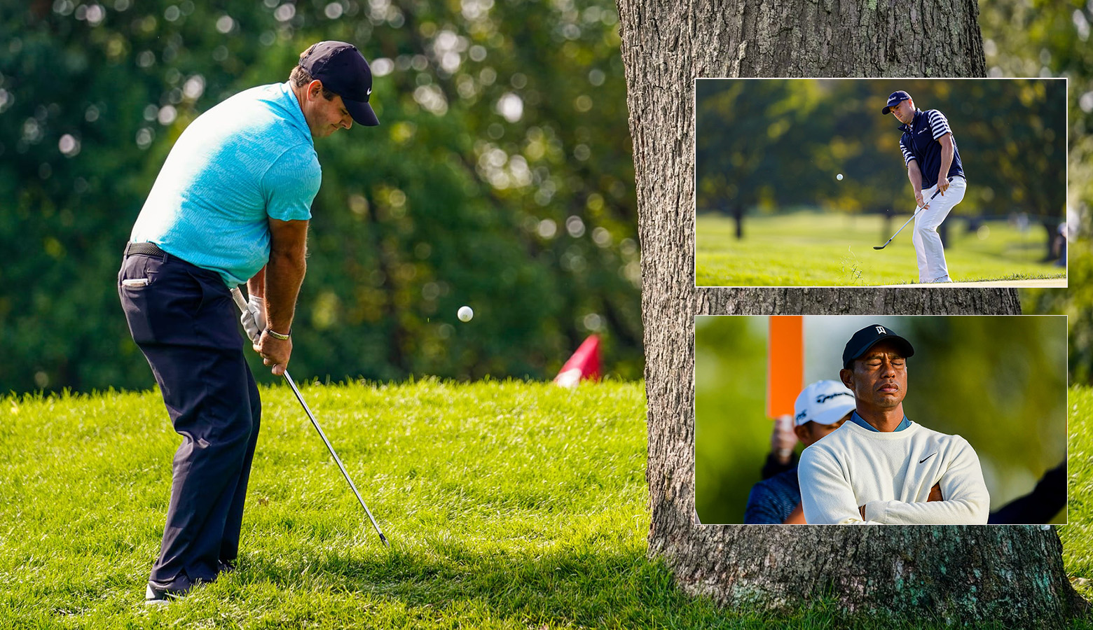 Reed grinds it, Bryson muscles his way; Thomas hangs in as Tiger and Phil exit at the US Open