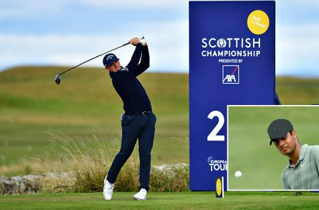 Sharma gives away early gains; Chawrasia slips and Wallace leads Scottish