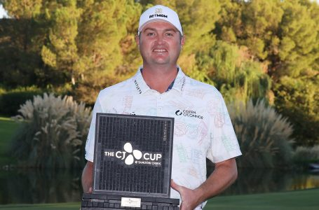 After 10 years and 232 starts, Kokrak picks a winner's cheque at CJ Cup
