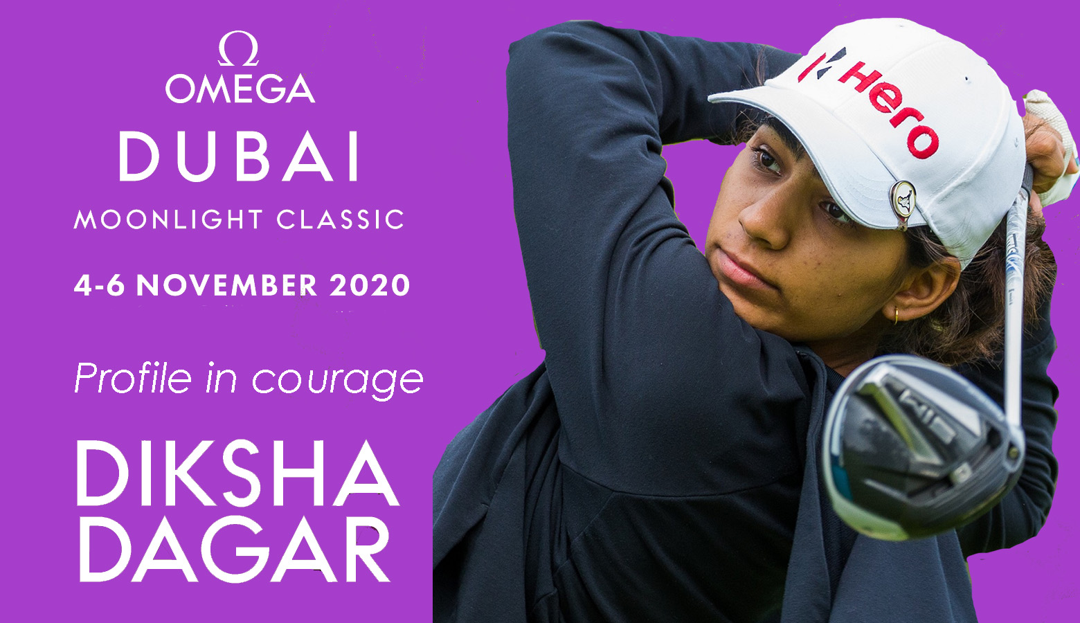 """Gutsy Diksha says """"golf is the anchor in her life"""" as she gets ready for Dubai"""