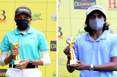 Akshay, Avani grab Amateur titles at Champions Golf