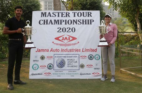 Sachin Chauhan wins Young Masters Golf Tour WAGR Boys title; Riya tops girls section